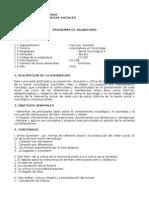 Propuesta Programa Electivo IV