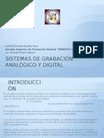 Sistemas de Grabación Analógico y Digital I