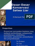 29011163-Pembukaan-Konservasi-Satwa-Liar.ppt