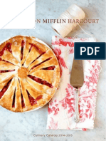 Houghton Mifflin Harcourt 2014-2015 Culinary Catalog
