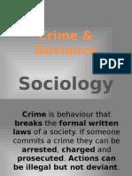 Crime-Deviance