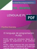 Lenguaje Pl SQL