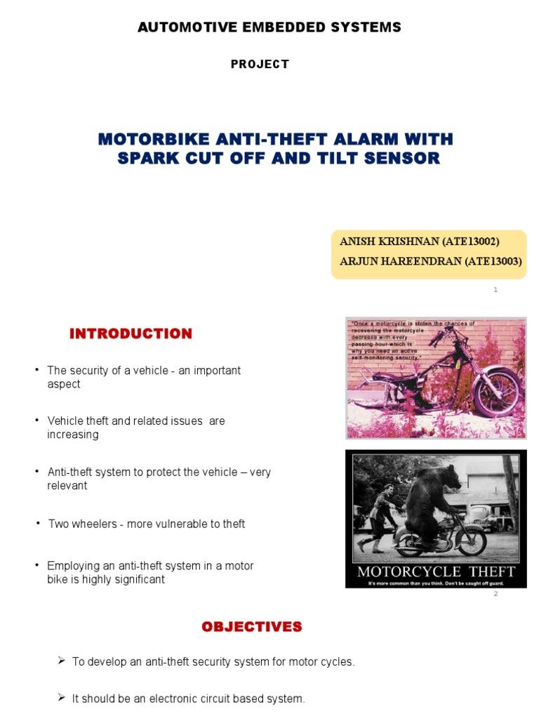 Awe Inspiring Motorbike Anti Theft Alarm With Spark Cut Off And Tilt Sensor Monang Recoveryedb Wiring Schematic Monangrecoveryedborg