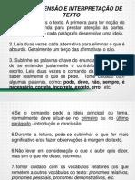 Sgc Tj Pr 2014 Tecnico Compre Interpretacao Textos 01 a 04