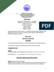 Medford City Council Agenda March 3, 2015