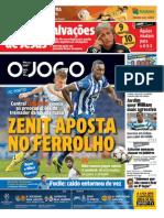 Jornal O Jogo 05-11-2013