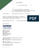 Fórmulas PMP