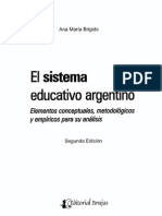 Ana María Brigido - El Sistema Educativo Argentino