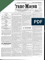 1885 - Le Franc Maçon n°11 -  5-12 décembre 1885 - 1ère année.pdf