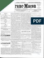 1885 - Le Franc Maçon n°14 -  26 décembre 1885 au 2 janvier 1886 - 1ère année.pdf