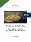 Theater Als Gestaltsystem