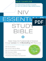 NIV Essentials Study Bible