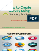 5.How to Create Survey using Survey Monkey.pdf
