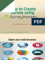 5.How to Create Survey using Survey Monkey.pdf