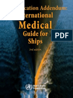 International Medical Guide for Ships(Quantification Addendum) Third Edition