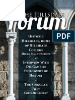 The Hillsdale Forum February 2015
