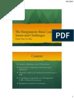 The Bangsamoro Basic Law
