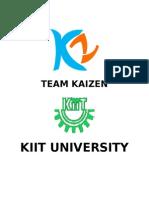 TEAM KAIZEN report.docx