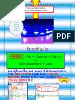 Formatting a Word Document2