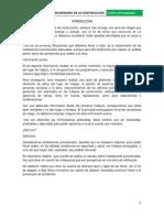 Calculo de obras preliminares en la construcción (El Salvador)