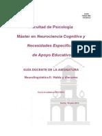 Neurolingüística 2- Habla y Discurso