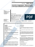 NBR 12819 - 1993 - Concreto e Argamassa - Determinação da Elevação Adiabática da Temperatura.pdf