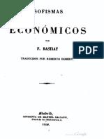 Sofismas Económicos - Frédéric Bastiat