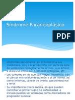 Síndrome Paraneoplásico