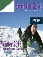 Summit Park District Winter 2015