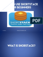 14.How to Use Shor Stack