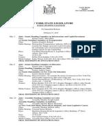 February 27, 2015 - Public Hearing Calendar