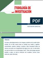 Metodologia de La Investigacion (Patricia Gillezeau) Sesión 2 Ciencia e Investigación