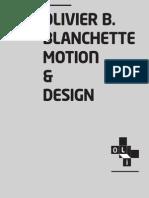 Olivier B. Blanchette Portfolio 2014