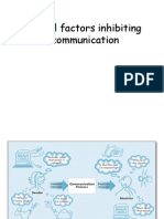 Barriers Inhibiting Communication