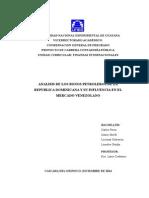 Analisis de Los Bonos Petroleros de RD Con El Mercado Venezolano.