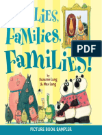 Families, Families, Families! by Suzanne Lang & Max Lang