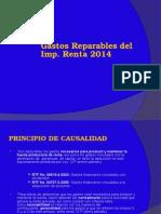 Gastos Reparables 2014