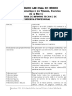Estructura de Informe Tecnico