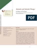 ##1. Attitudes and Attitude Change