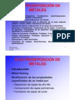 Electrodeposicion de Metales