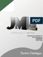 JMWorldService Catalogue