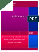Analisis externo