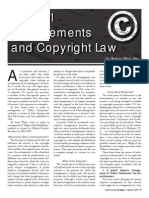 musical arrangements copyright law article 2011