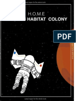 MARS HABITATION COLONY