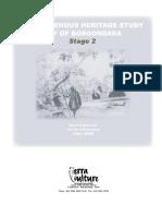 Boroondara Indigenous Heritage Study Stage 2, June 2004