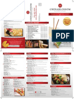 China Blossom Take Out & Delivery Menu 2/2015