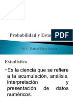 Estadística Descriptiva I
