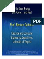 Calhoun - Flexibility for Ultra Low Power - Slides (2009)