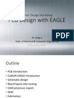 Li - Idaho University - PCB Design With EAGLE (Slides) (2014)