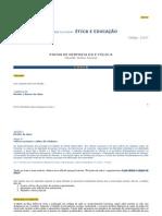E-Fólio A Pistas de Resposta Etica Educação